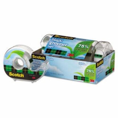 "Magic Greener Tape in Refillable Dispenser, 3/4"" x 600"", 1"" Core, 6/Pack"