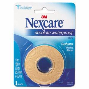 """Absolute Waterproof First Aid Tape, Foam, 1"""" x 180"""""""