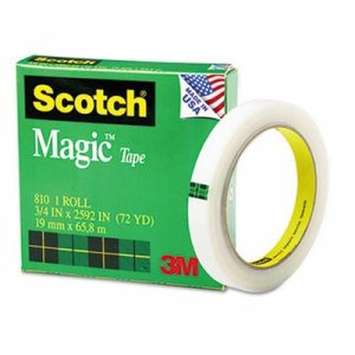 """Magic Tape, 3/4"""" x 2592"""", 3"""" Core, Clear"""
