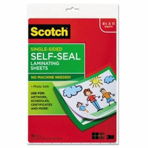 Self-Sealing Laminating Sheets, 6.0 mil, 8 1/2 x 11, 10/Pack