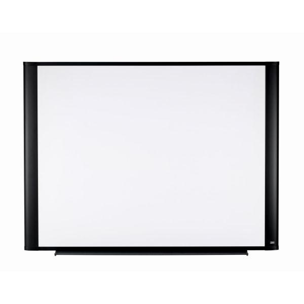 Melamine Dry Erase Board, 48 x 36, Aluminum Frame