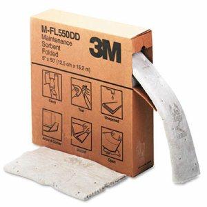 Sorbent, High-Capacity, Folded Maintenance, 10.5gal Capacity, 1 Roll/Box