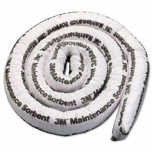 Maintenance Sorbent Mini-Boom, 3gal Sorbing Volume Each, 4/Carton