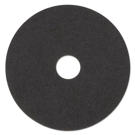 "Low-Speed Stripper Floor Pad 7200, 23"" Diameter, Black, 5/Carton"