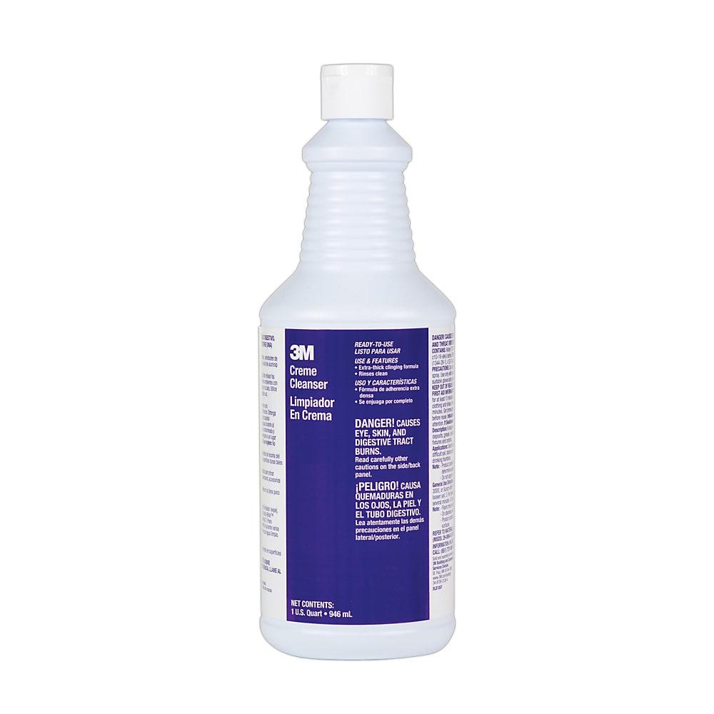 Bathroom Creme Cleanser, Mint Scent, 1 qt. Bottle