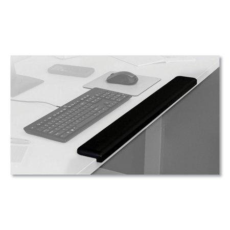 Gel Wrist Rest for Standing Desks, 30.13 x 3.25 x 1, Black