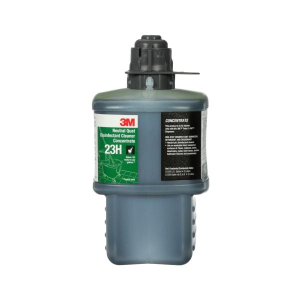 Neutral Quat Disinfectant Cleaner Concentrate, Fresh Scent, 0.53 gal Bottle, 6/Carton