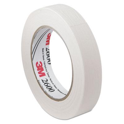 "Economy Masking Tape, 3"" Core, 1.42"" x 60 yds, Tan"