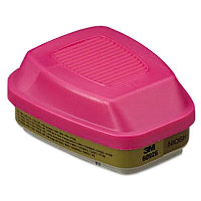Multi Gas/Vapor Cartridge/Filter, P100, 2/Pack Respirator