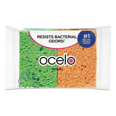 O-Cel-O Sponge w/3M Stayfresh Technology, 4 7/10 x 3 x 3/5, 4/Pack