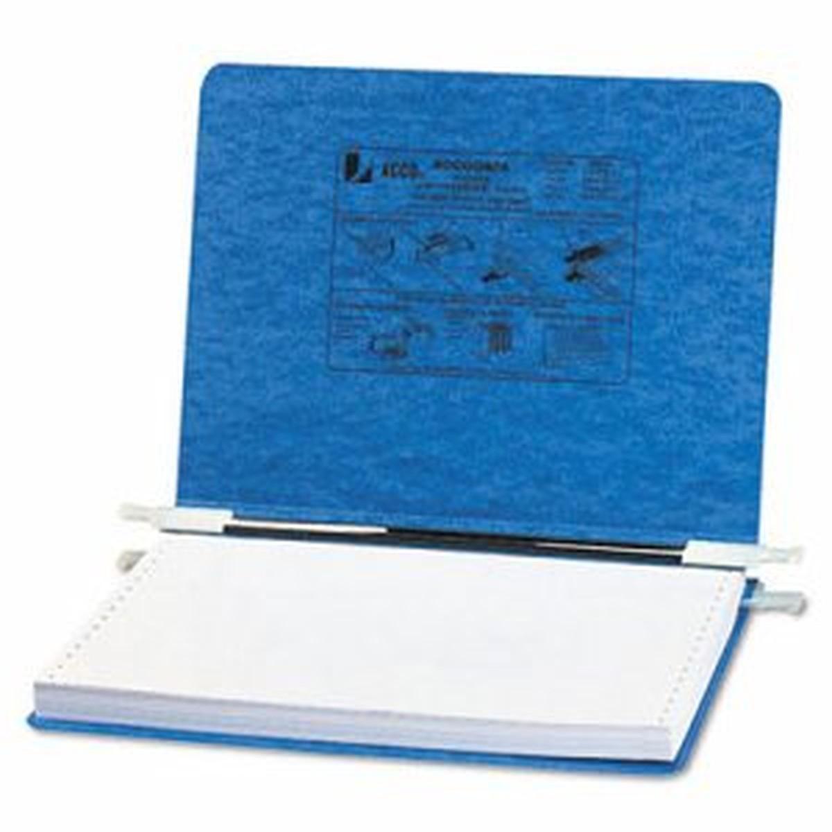 """PRESSTEX Covers w/Storage Hooks, 6"""" Cap, 12 x 8 1/2, Light Blue"""