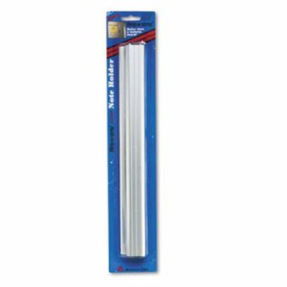 Grip-A-Strip Display Rail, 12 x 1 1/2, Aluminum Finish
