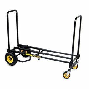 Multi-Cart 8-in-1 Cart, 500lb Capacity, 32 1/2 x 17 1/2 x 42 1/2, Black