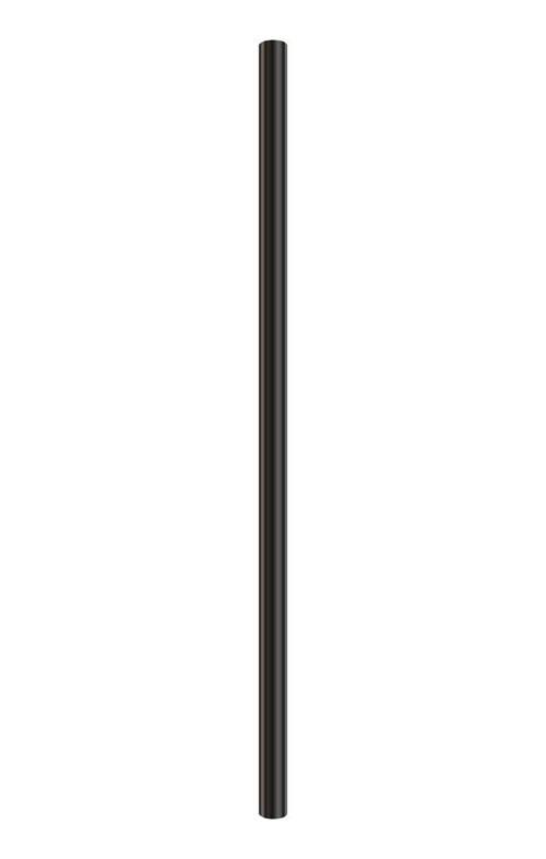 METAL LAMP POST, BLACK, 7 FT.