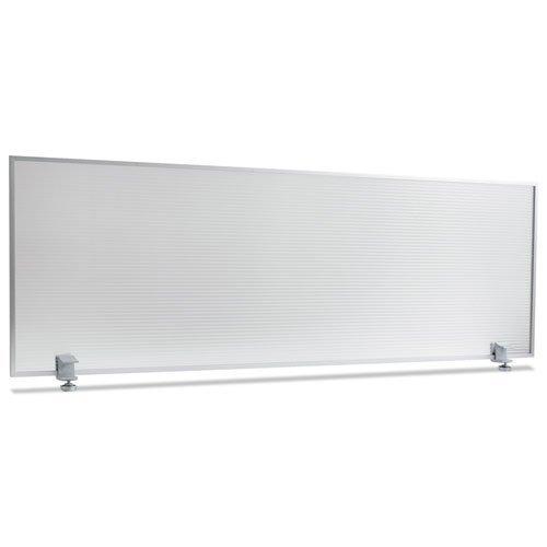 Polycarbonate Privacy Panel, 47w x 18h, Silver