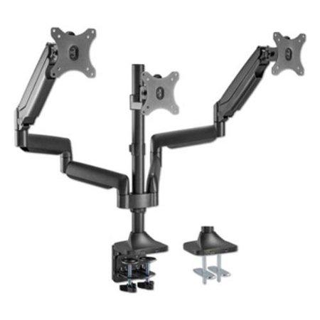 "AdaptivErgo Heavy-Duty Articulating Triple Monitor Arm with USB, 32"", Black"