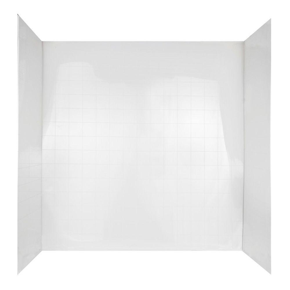 WINDSOR 3-PIECE BATHTUB WALL KIT