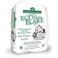 American Wood Fibers 0P2ECOAC Animal Beddings, Eco Flake, 5.5 Cu Ft Expansion