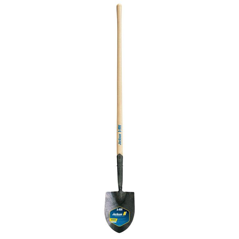 Long Handle Round Point Pony #1 Builder Shovel