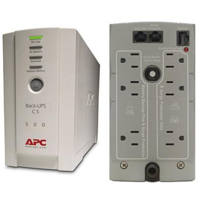 APC BK500 BACK-UPS 500 SYSTEM