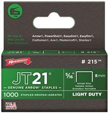 ARROW JT21� STAPLES, 5/16 IN.