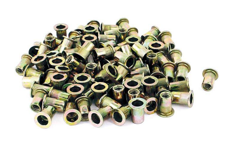 Astro RN516 5/16In18 Steel Rivet Nuts 100 Piece