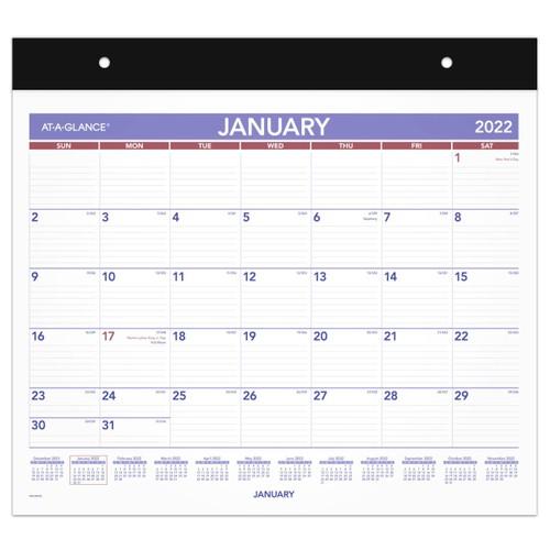 Repositionable Wall Calendar, 15 x 12, 2022