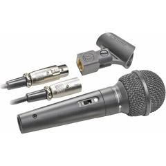 Audio-Technica ATR-1500 ATR Series Dynamic Vocal/Instrument Microphone (Cardioid, ATR1500)