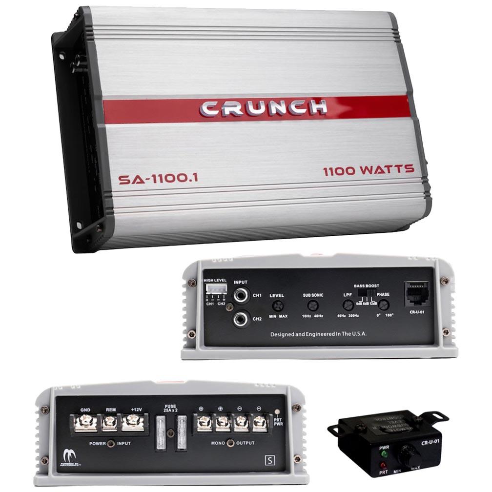 Crunch Smash Amplifier Mono 1100 Watts