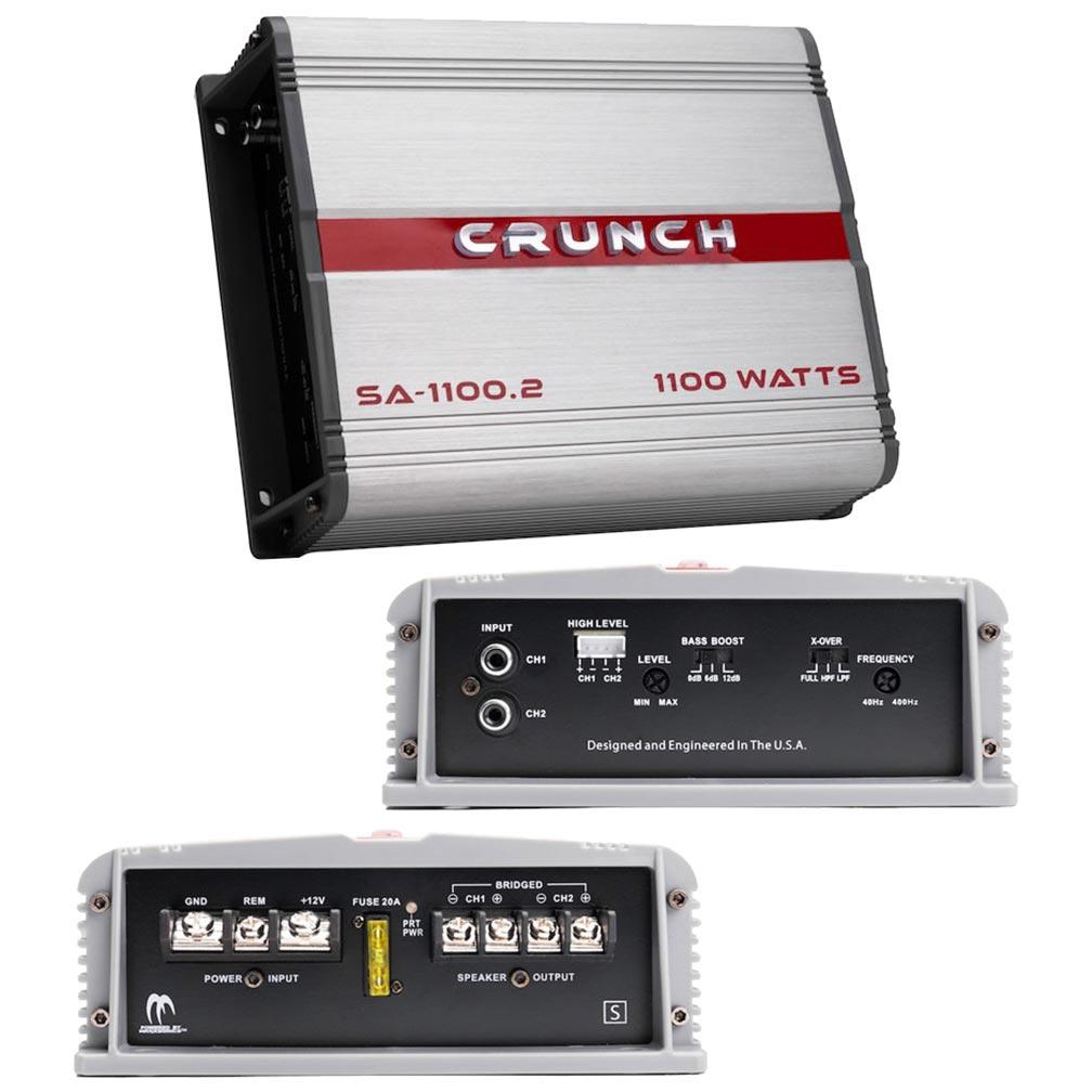 Crunch Smash Amplifier 2 Channel 1100 Watts