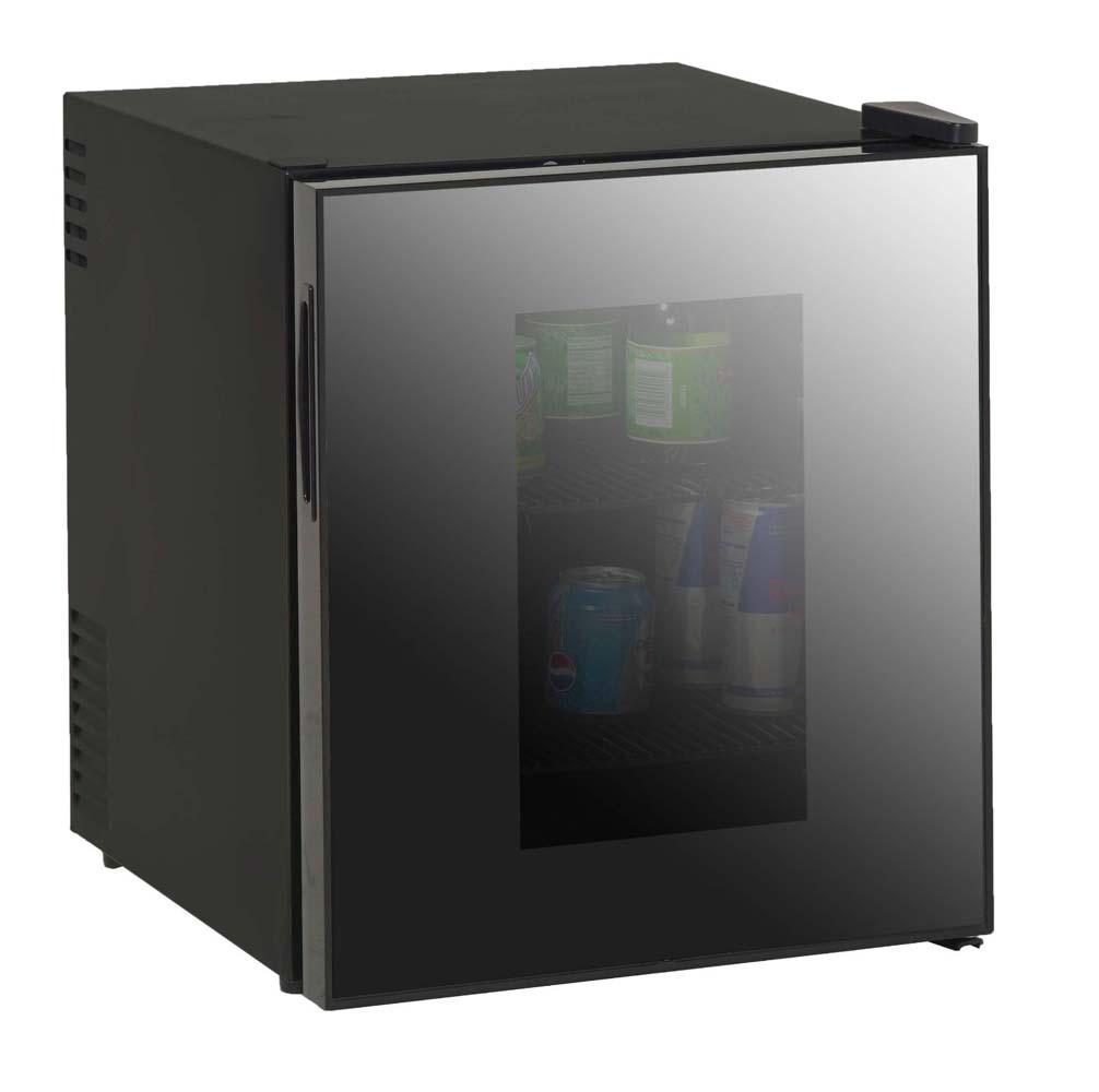AVANTI SBCA017G BLACK 1.7CF BEVERAGE COOLER DELUXE GLASS DOO