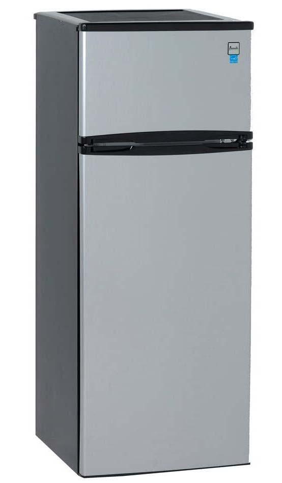 Avanti Ra7316Pst Black Refrigerator 7.4 Cu Ft Two Door Cycle
