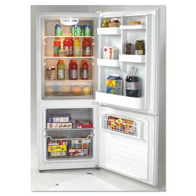Bottom Mounted Frost-Free Freezer/Refrigerator, 10.2 Cubic Feet, White