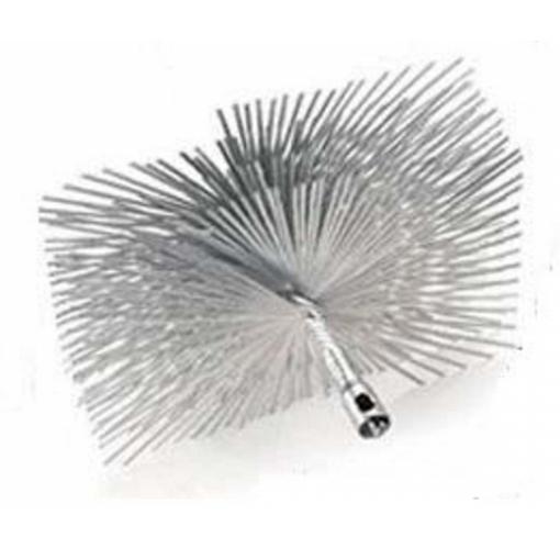 """12"""" Square Master Series Round Wire Brush"""