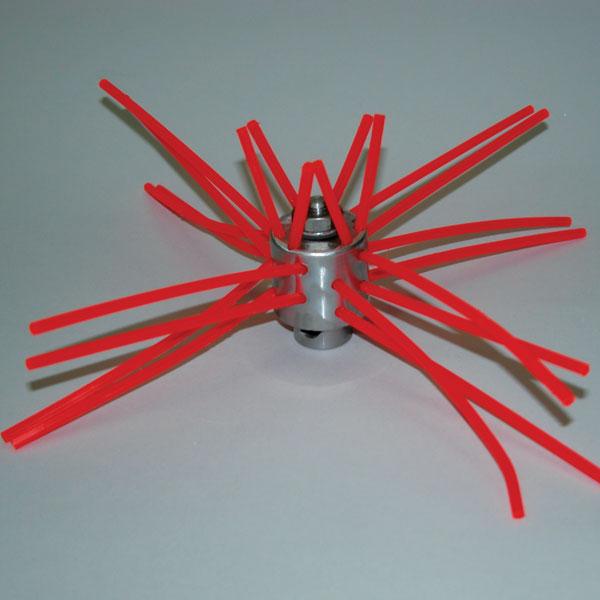 "RoVac Mini-Medusa 12"" Small Super Scrub Whip w/ButtonLok - 7260"