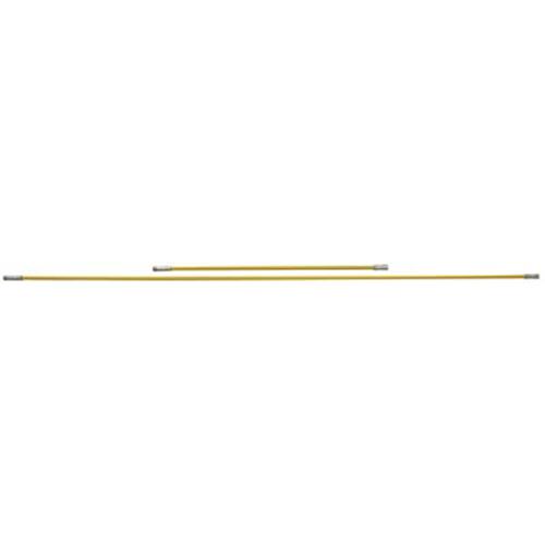 "17072 - Heavy-Duty Chimney Cleaning Rod, 6', Yellow, 3/8"" Npt"
