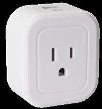 AZPEN SP1 WIFI SMART PLUG WITH BUILT IN USB CHARGING PORT 1PK