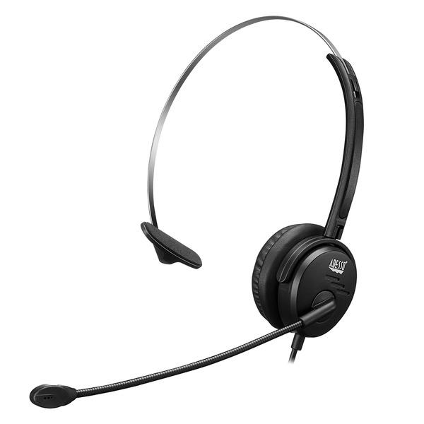 Mono Aural USB Headset w Mic