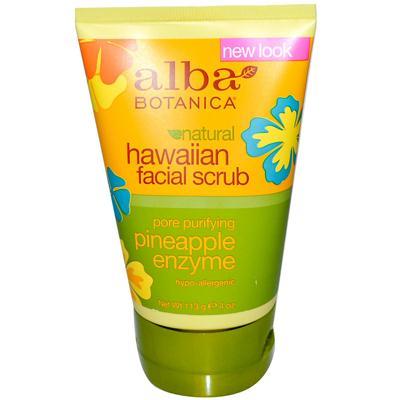 Alba Botanica Pineapple Enzyme Facial Scrub (1x4 Oz)