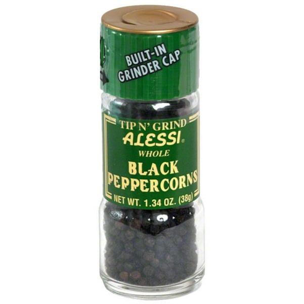 Alessi Black Peppercorn Grinder (6x134OZ )