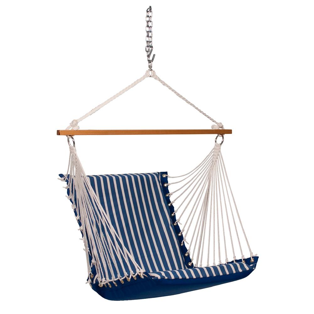 Sunbrella Soft Comfort Hanging Chair - Regatta