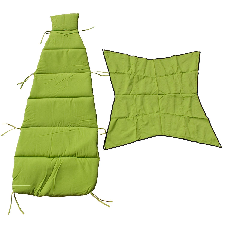 Cloud-9 Apple Green Pad/Pillow/Canopy Set