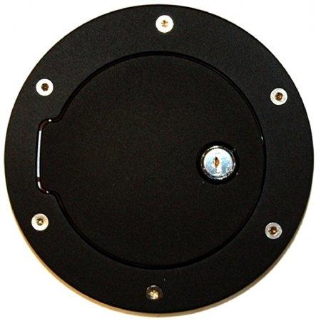 13-18 RAM 1500/2500/3500(19 CLASSIC HD)(EXCL DUALLY)FLAT BLACK RING/BLACK DOOR LOCKING FUEL DOOR