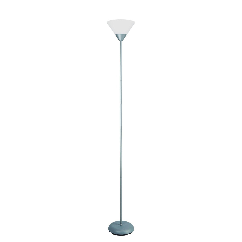 Simple Designs 1 Light Stick Torchiere Floor Lamp