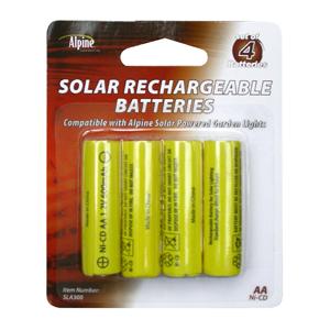 Solar Light Battery 4-Pack