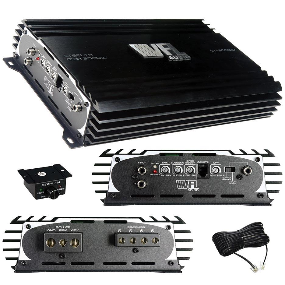 VFL Audio D Class Amplifier 3000 Watts Max 1500 Watts RMS
