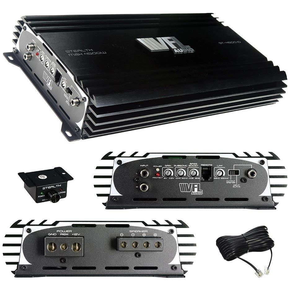 VFL Audio D Class Amplifier 4500 Watts Max 1800 Watts RMS