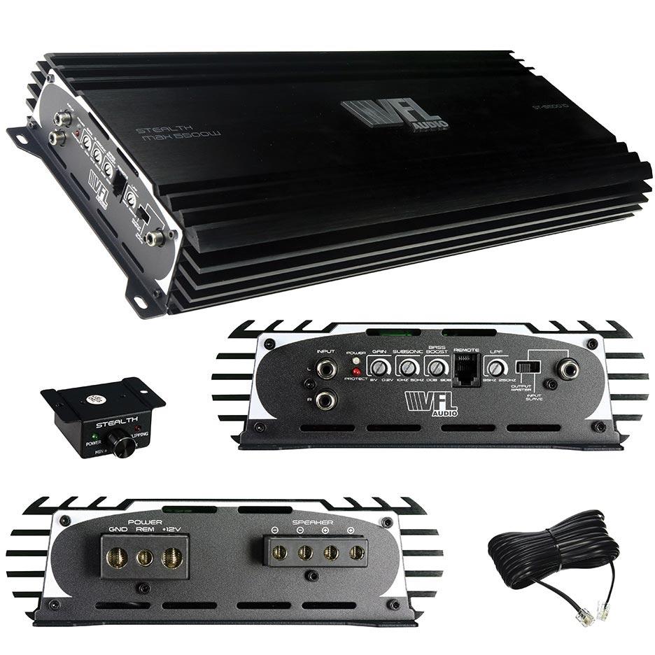 VFL Audio D Class Amplifier 5500 Watts Max 2800 Watts RMS