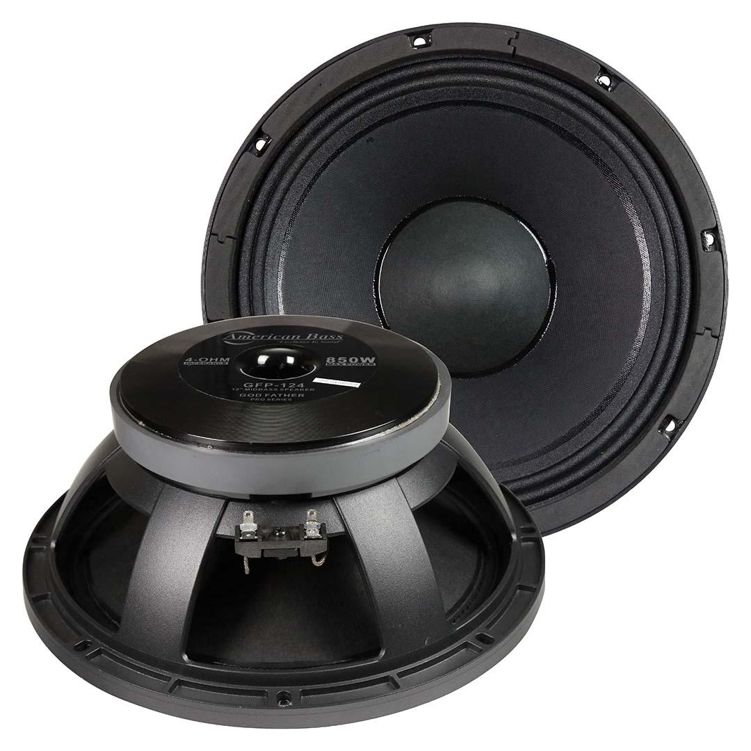 American Bass 12″ Midbass Speaker 425W RMS/850W Max 4 Ohm