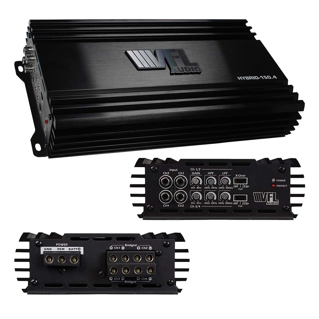 VFL Audio 4 Channel Amplifier 600W RMS